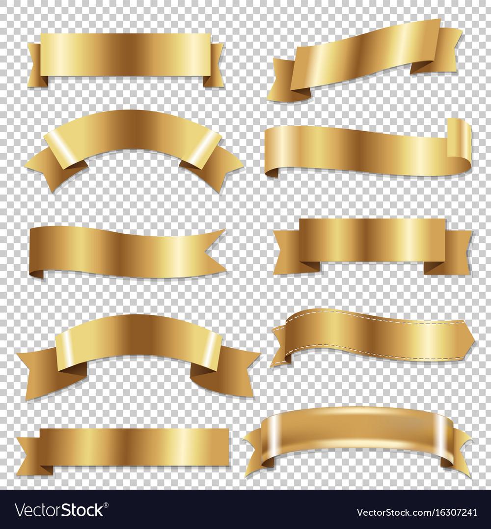 Big golden ribbons se