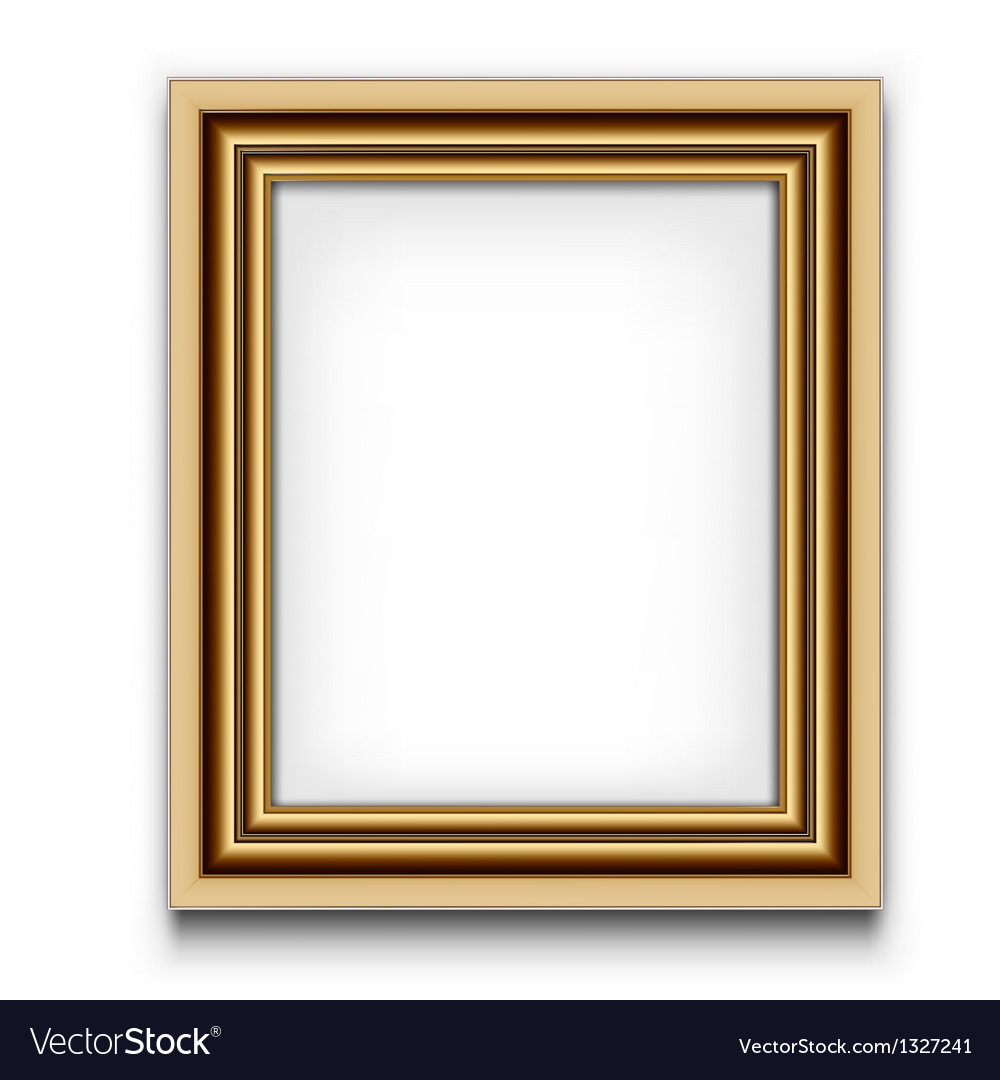 Frame for photo or picture vector image
