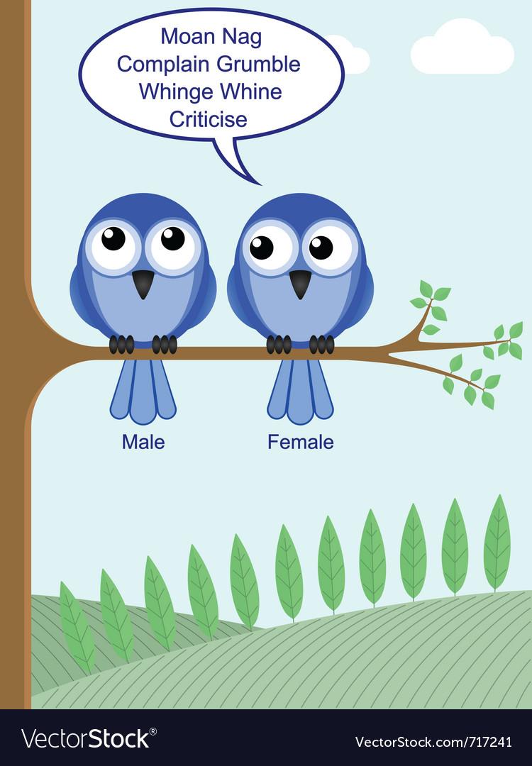 Gender of birds