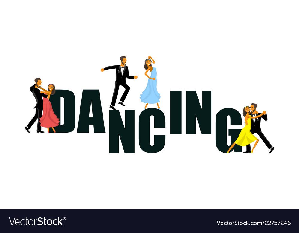 Banner for the dance studio