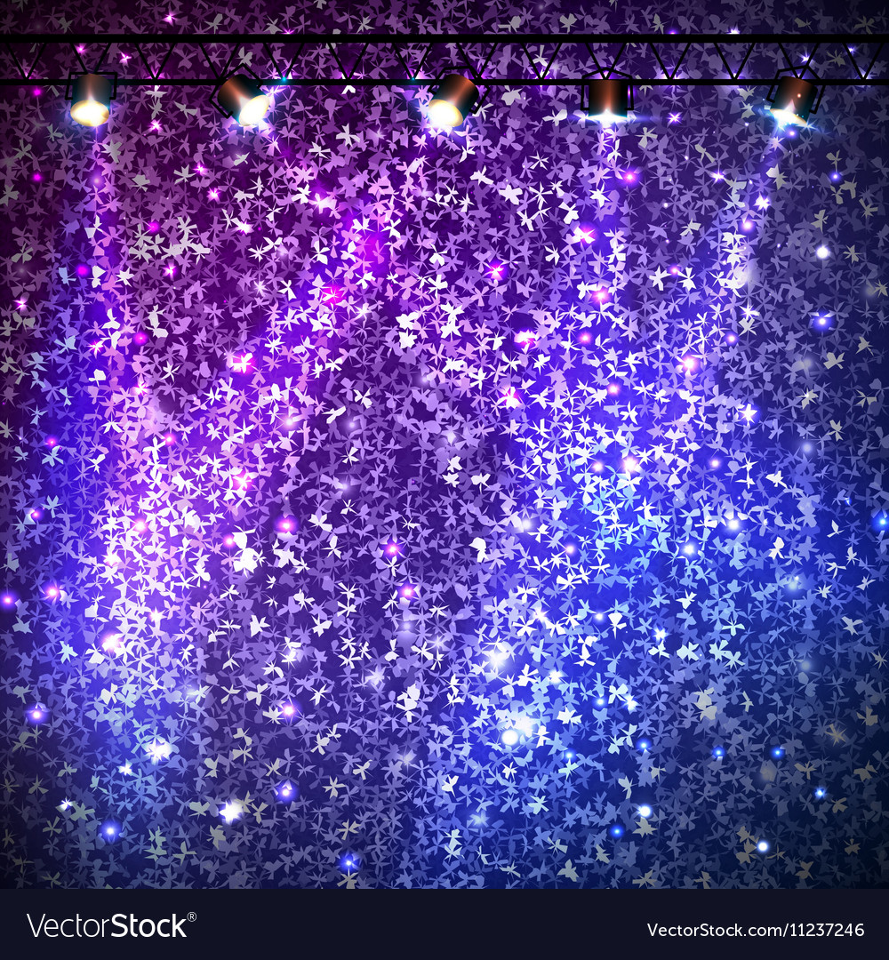 Disco abstract neon background