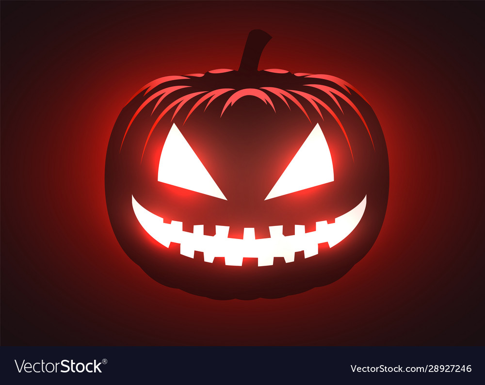 Silhouette Scary Pumpkin Halloween Party Vector Image Here you can explore hq scary pumpkin transparent illustrations, icons and clipart with filter setting polish your personal project or design with these scary pumpkin transparent png images, make it. vectorstock