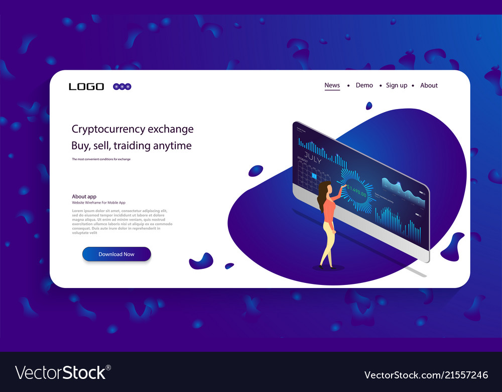 Woman look graphic business analytics concept
