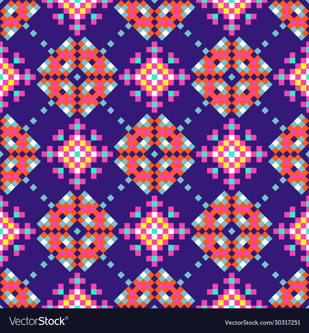 Abstract folk ethnic seamless pattern tribal