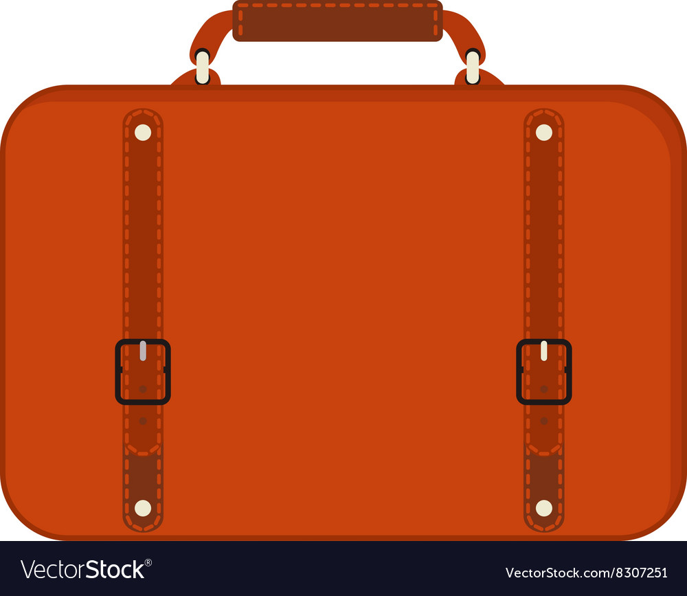 Journey suitcase travel red fashion bag trip