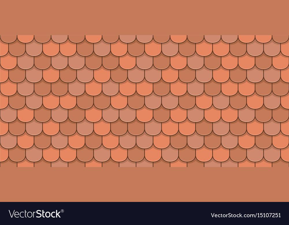 Orange roof tiles