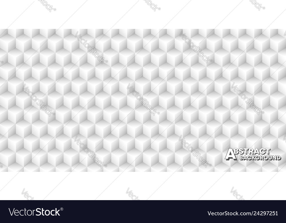 Seamless pattern background with cubes minimal