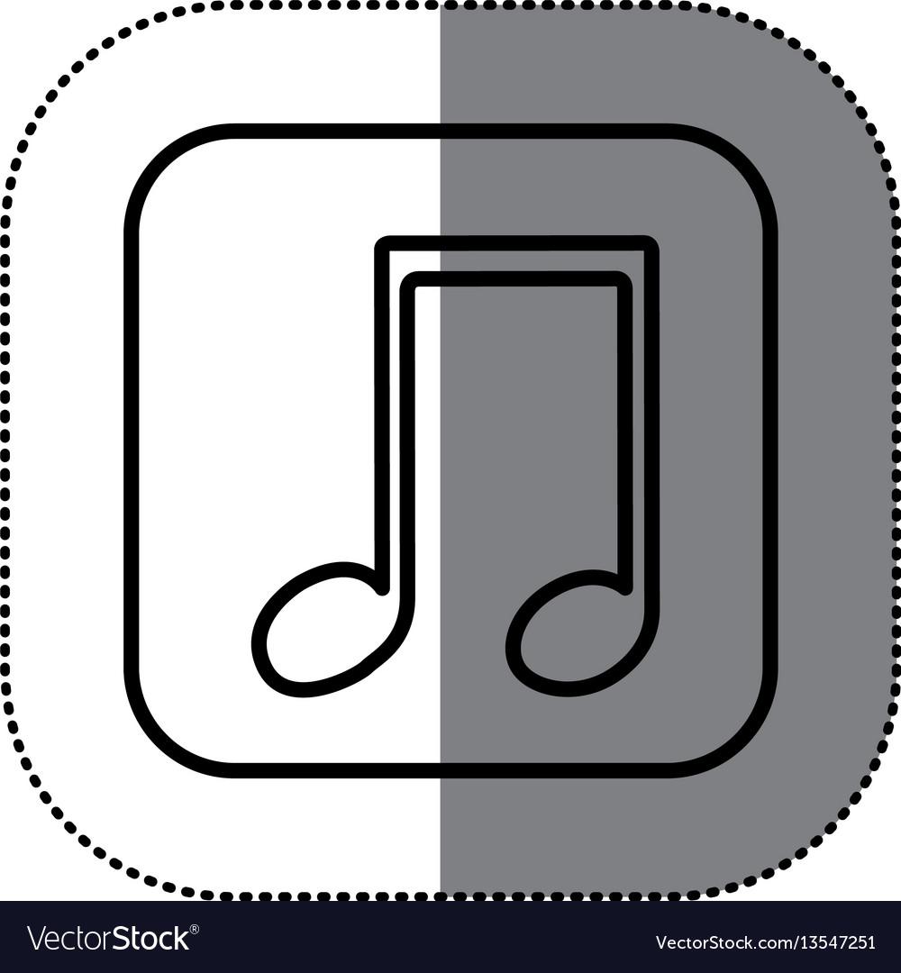Symbol play music icon