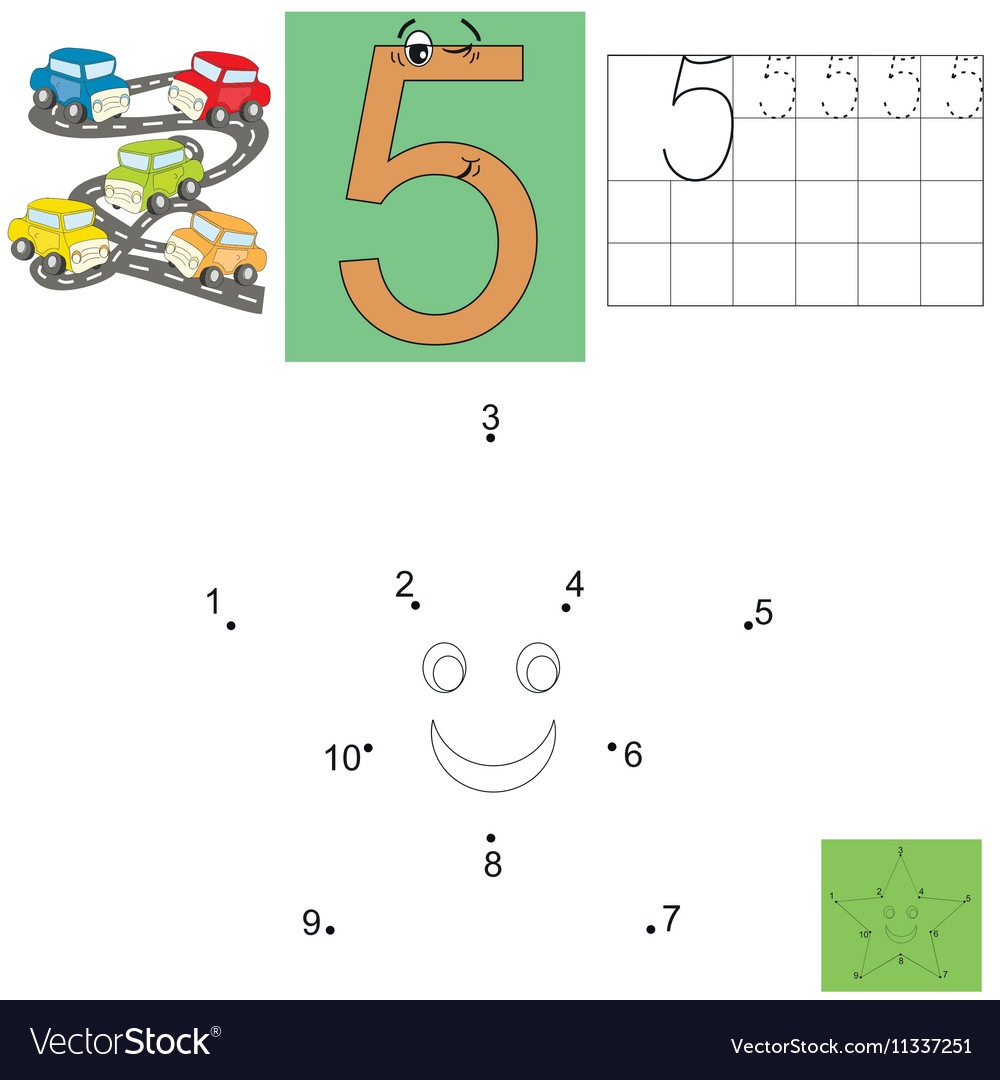 Task For Children In Mathematics The Figure Of Vector Image