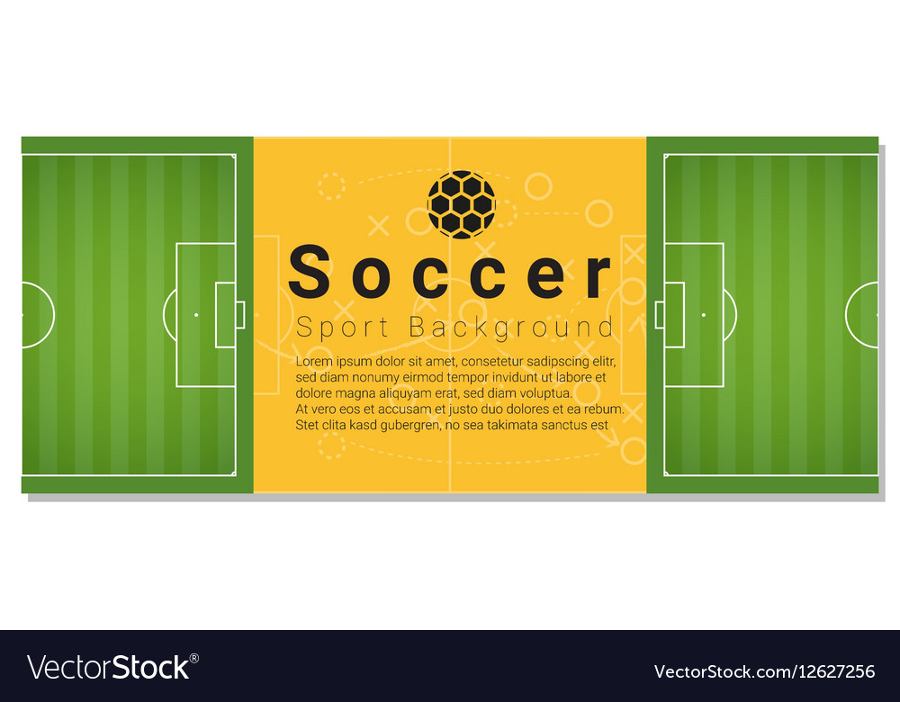 Football field graphic background 4