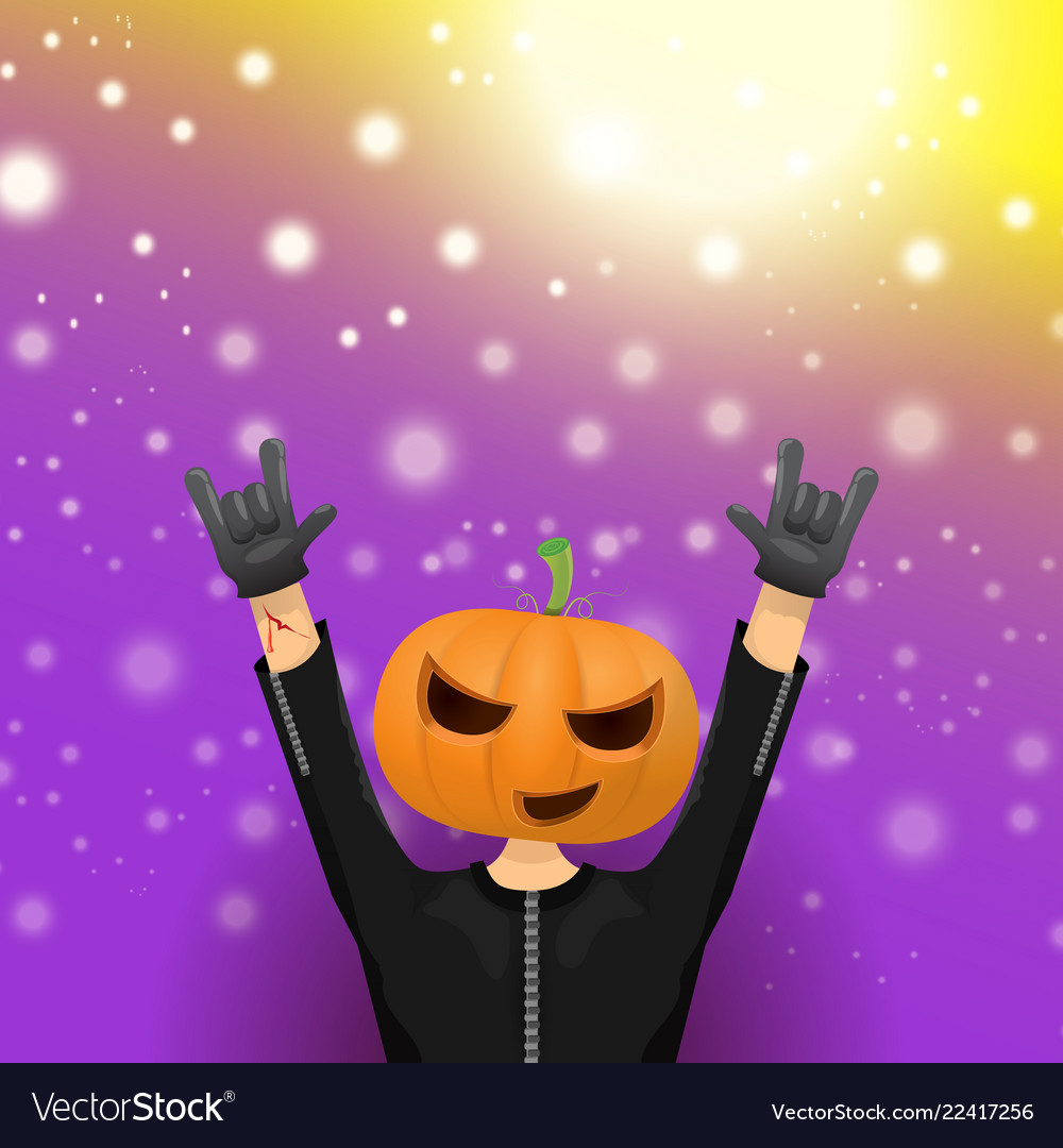 Happy halloween hipster party background