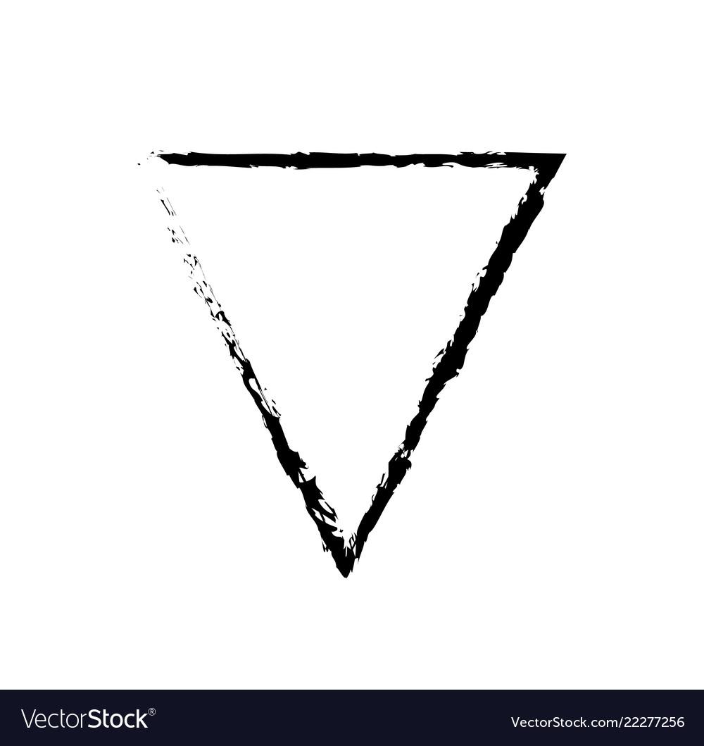 картинка перевернутого треугольника девушкам