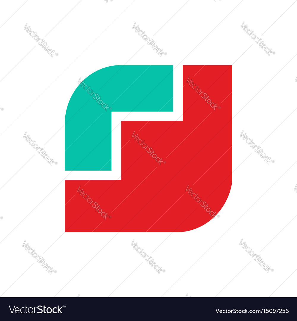 Poppy logo red flower emblem symbol flower shop