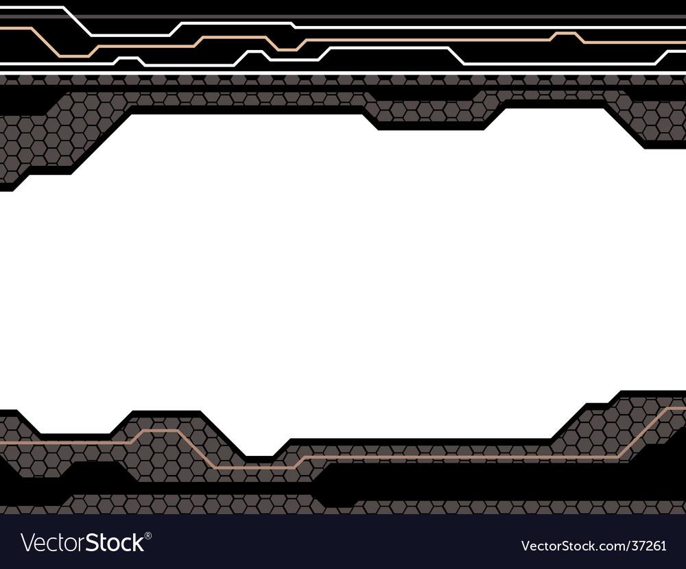 Digital future style vector image