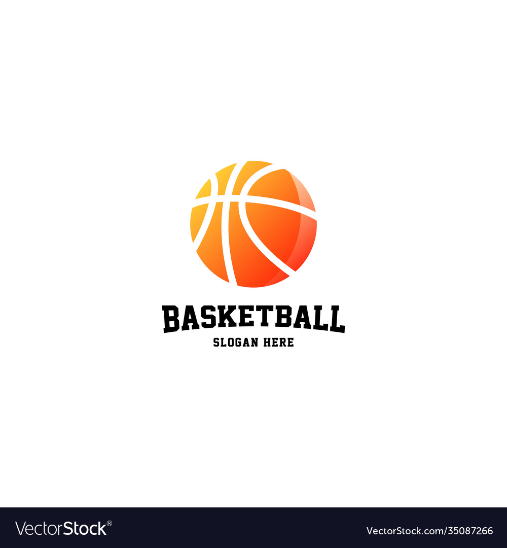Basketball logo sport logo design