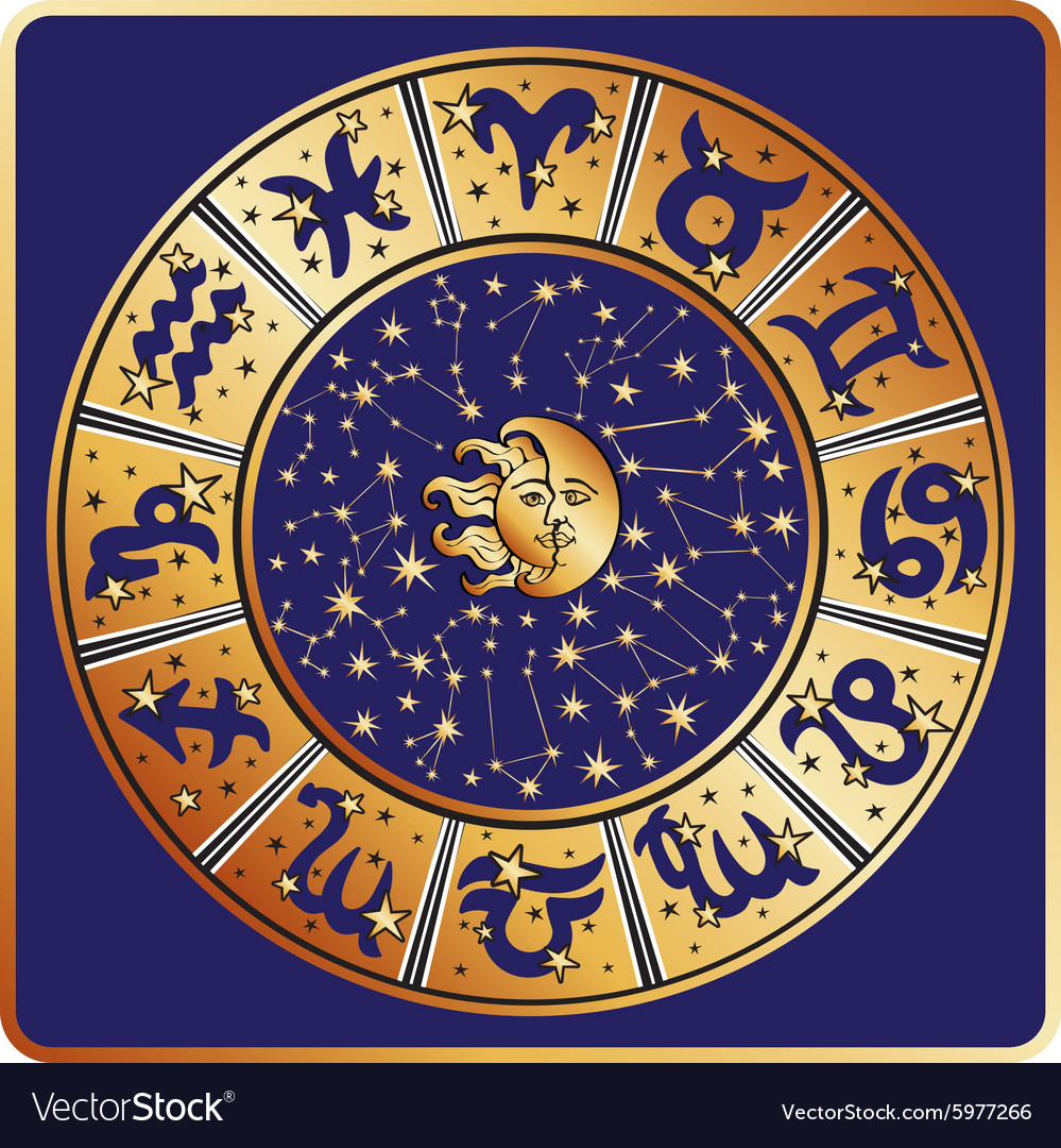 Horoscope circleZodiac signconstellationsmoon