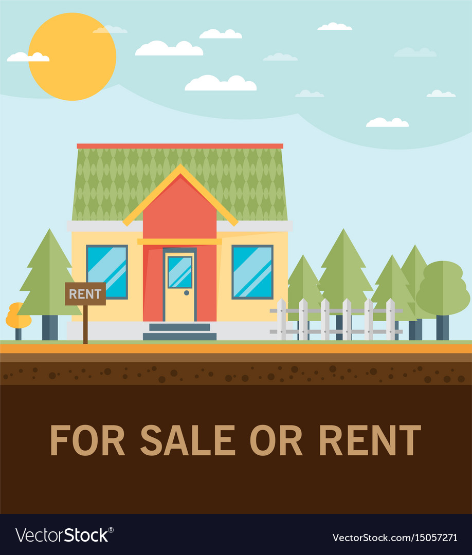 House for rent flat volume