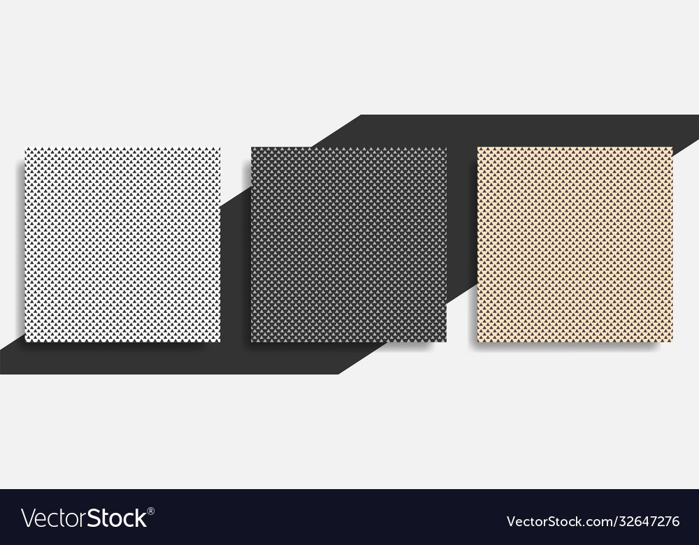 Set pattern seamless triangle abstract