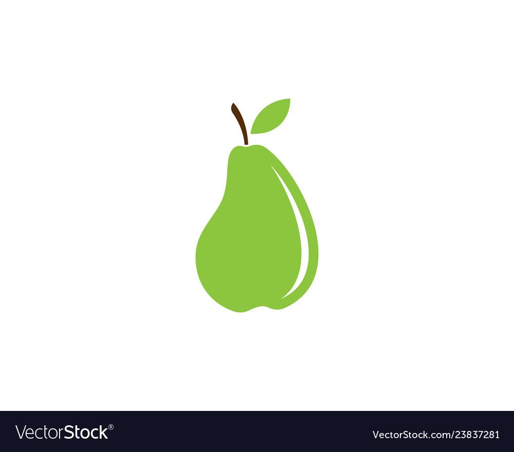 Fresh pear fruit food