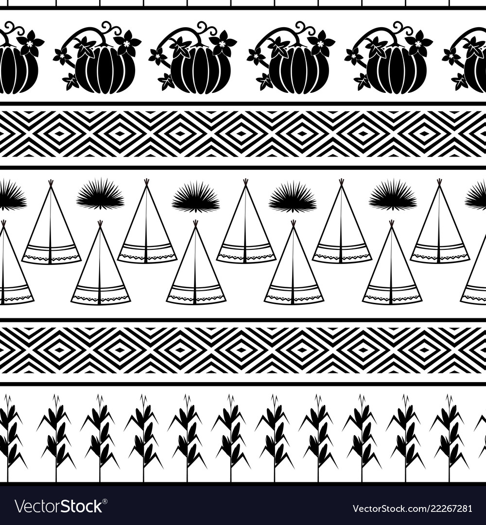 Indian theme graphic iseamless pattern for