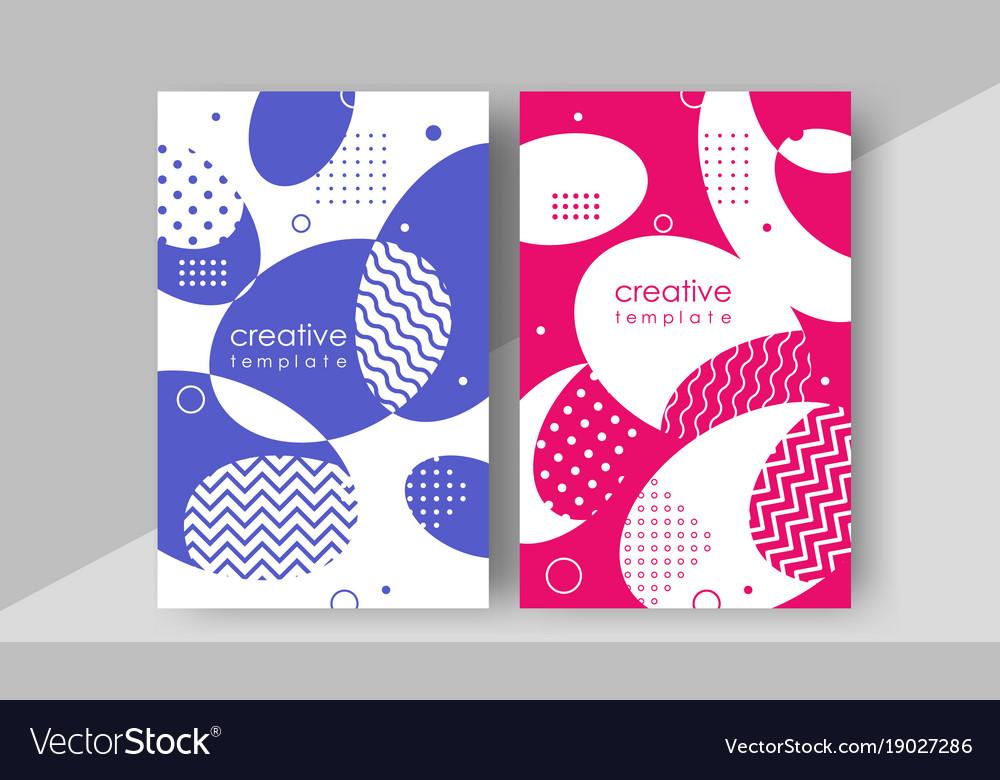 Minimal cover design annual report magazine