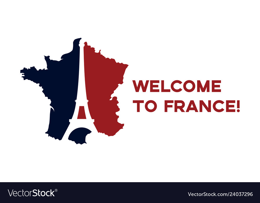 Poster welcome to france