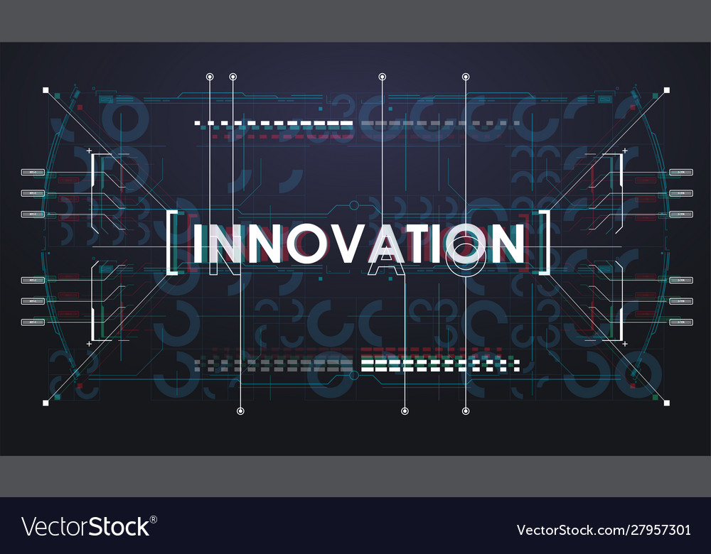Abstract digital technology background creative