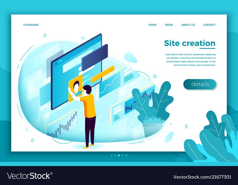 Concept site creation process