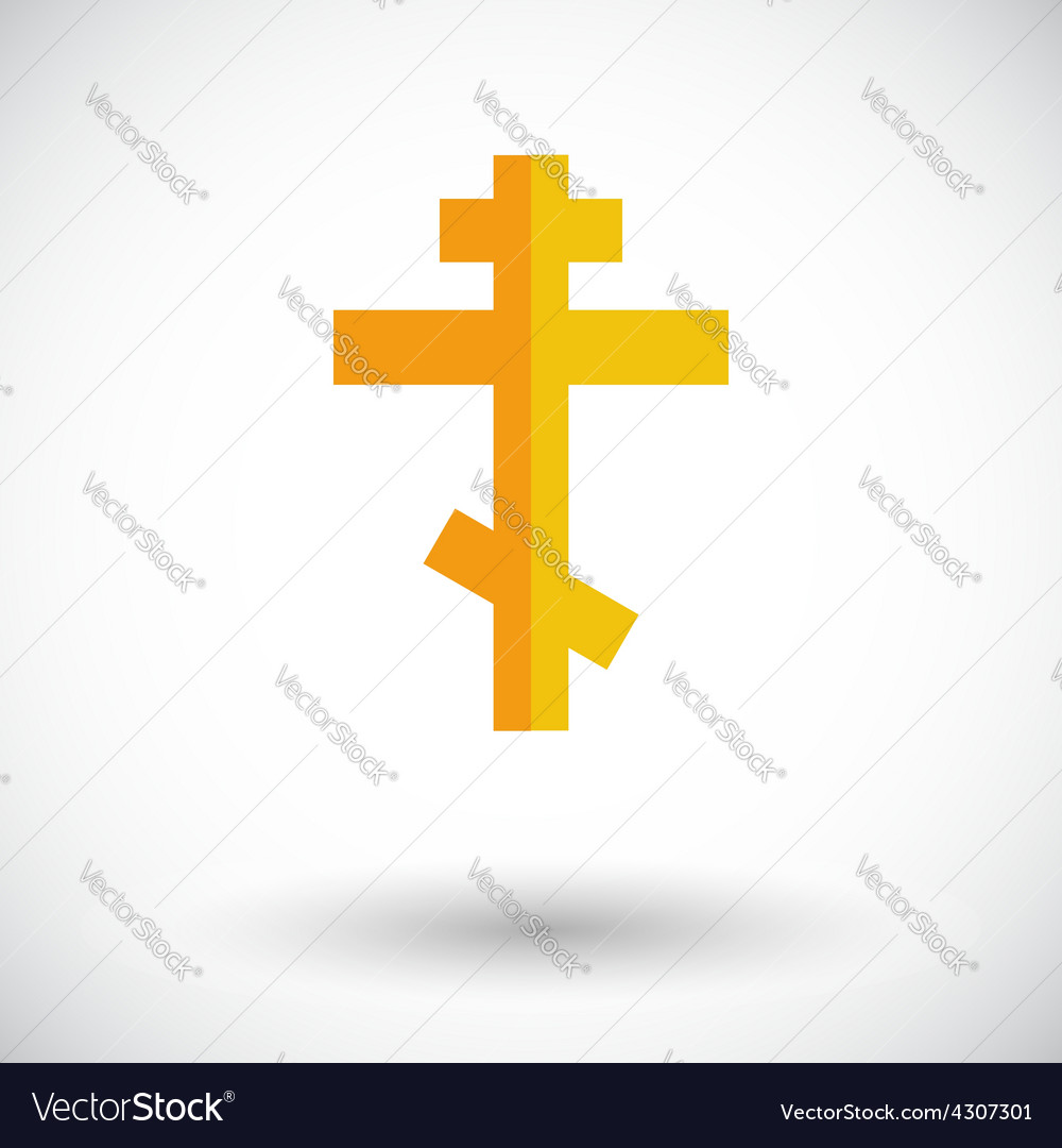 Cross single icon