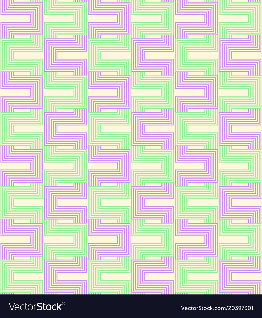 Geometric seamless pattern background with line