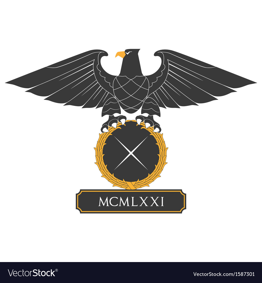 Heraldic eagle 22