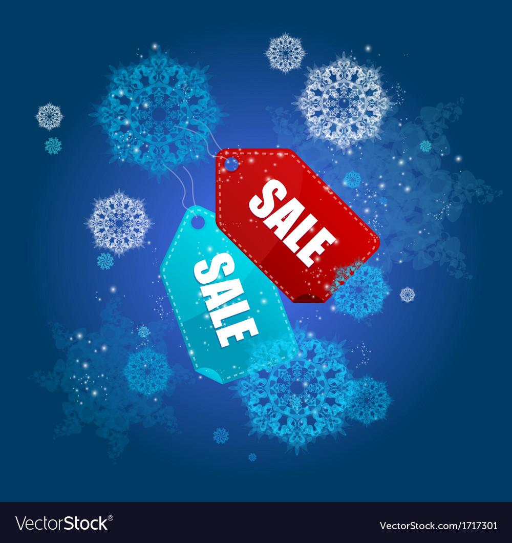 Sale labels winter set