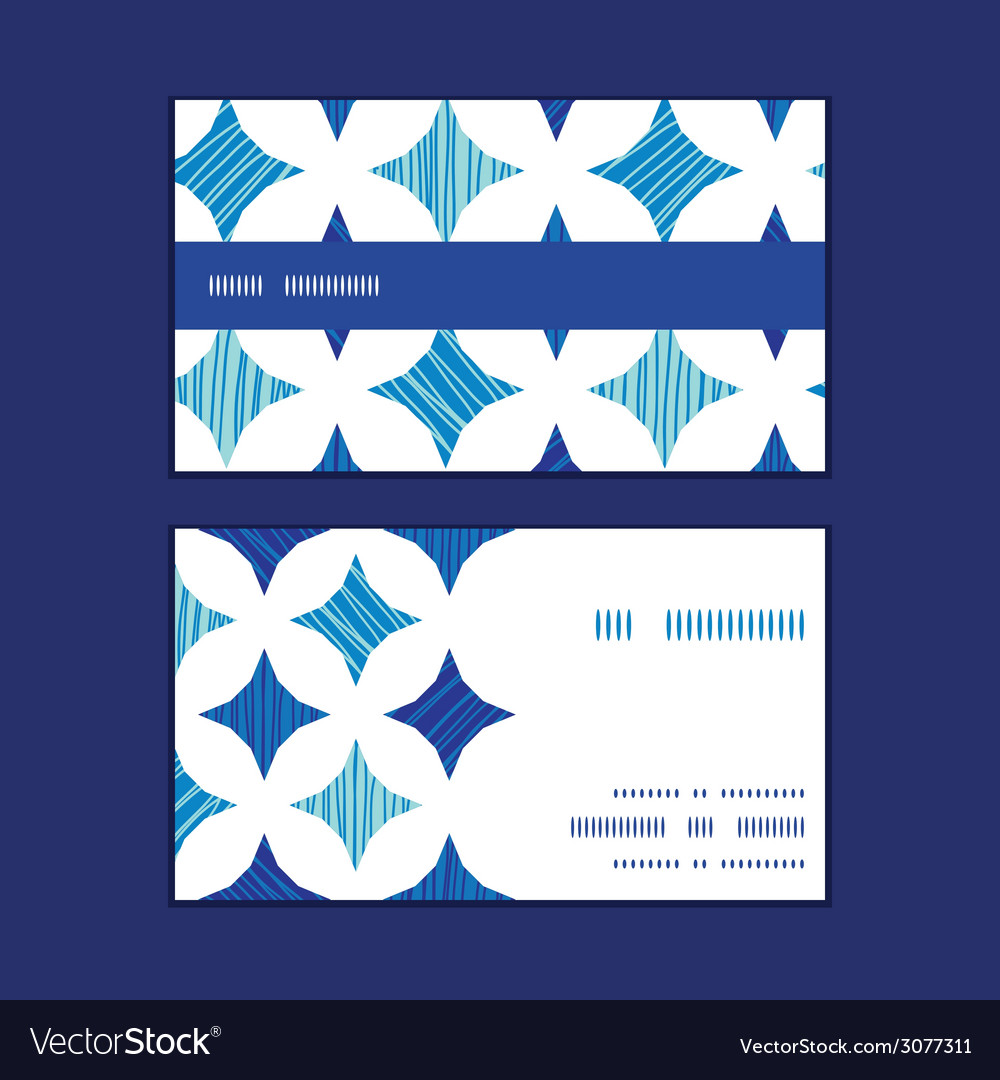 Blue marble tiles horizontal stripe frame pattern