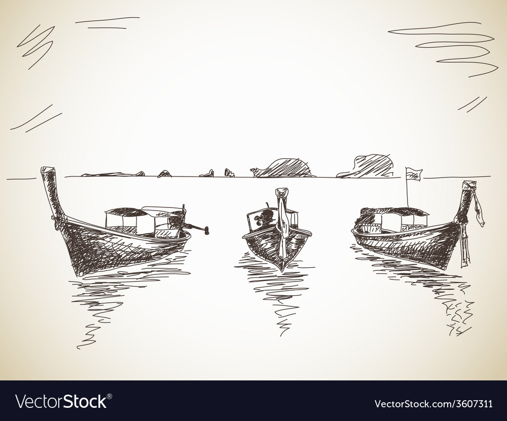Long-tail boat