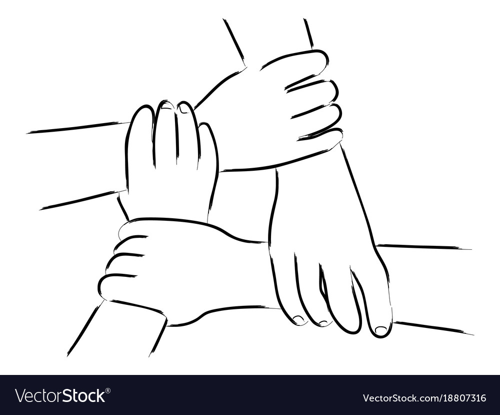 Hand gesturing unity