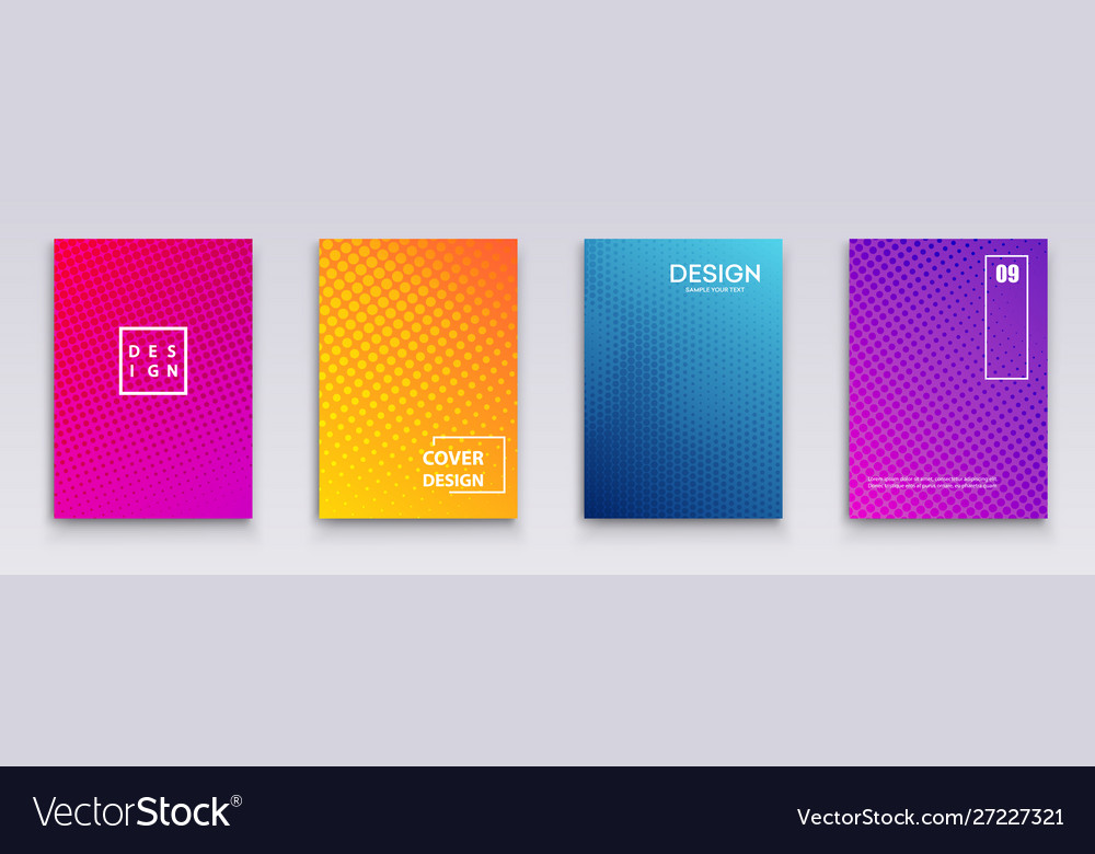 Minimal covers design geometric halftone