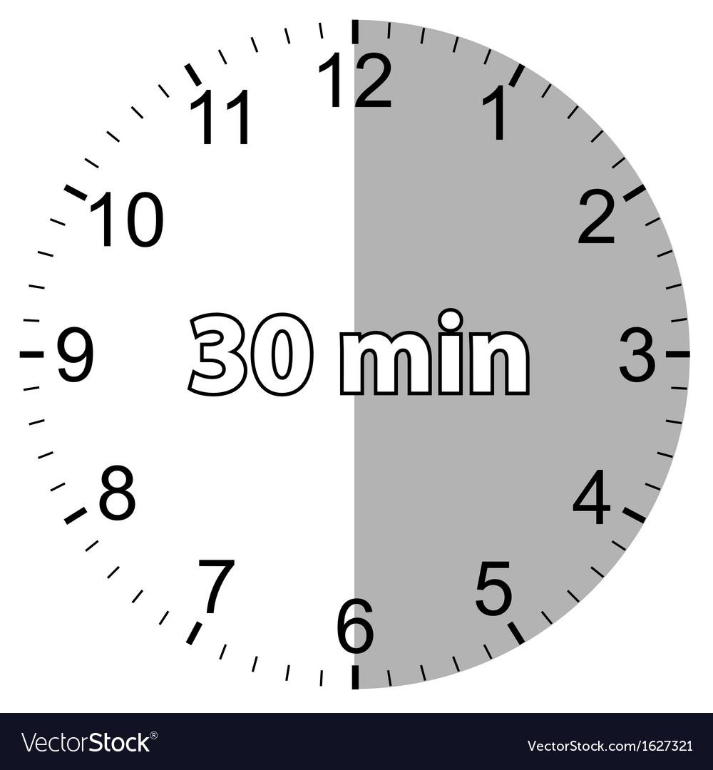 Картинка с надписью 30 минут, прикольные