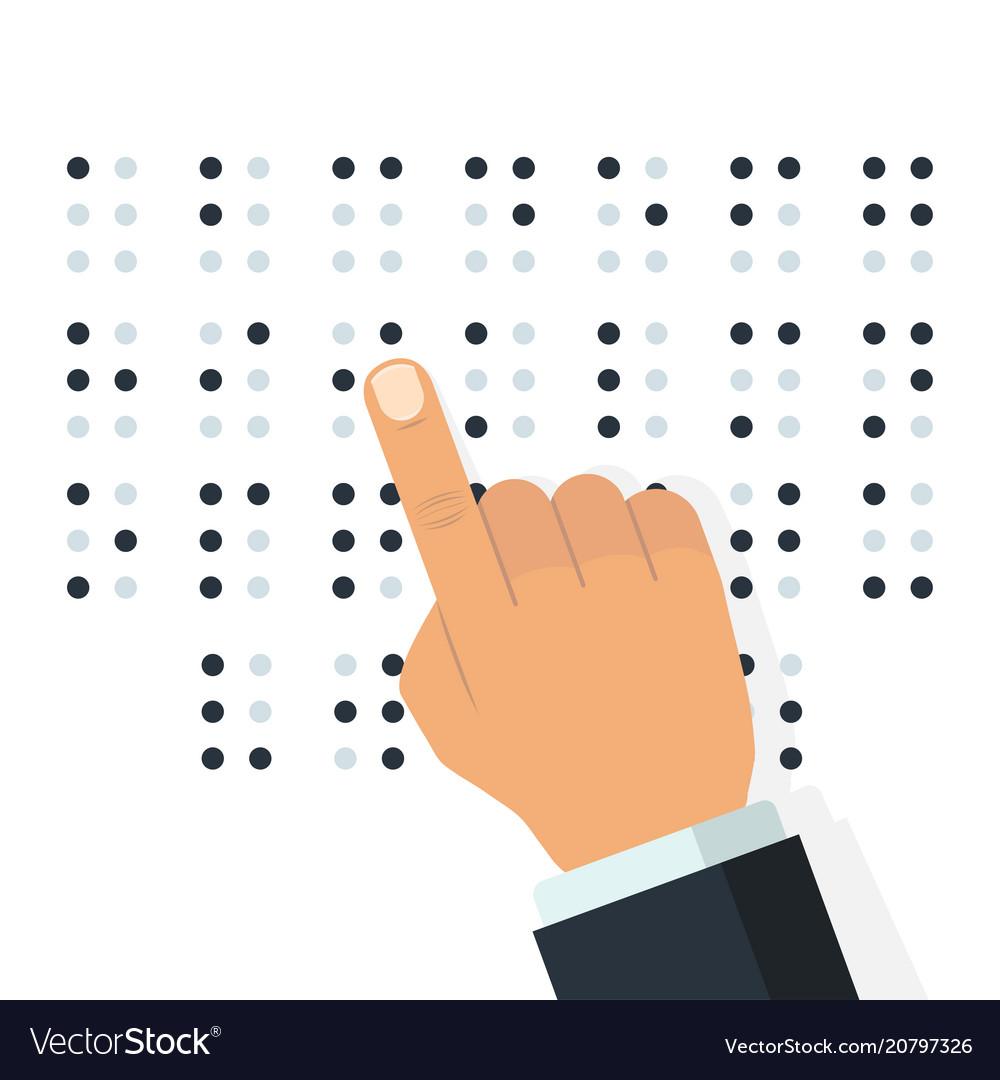 English braille alphabet