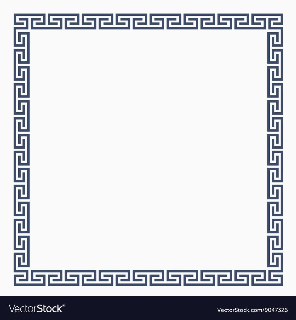 Greeke decorative frame for design