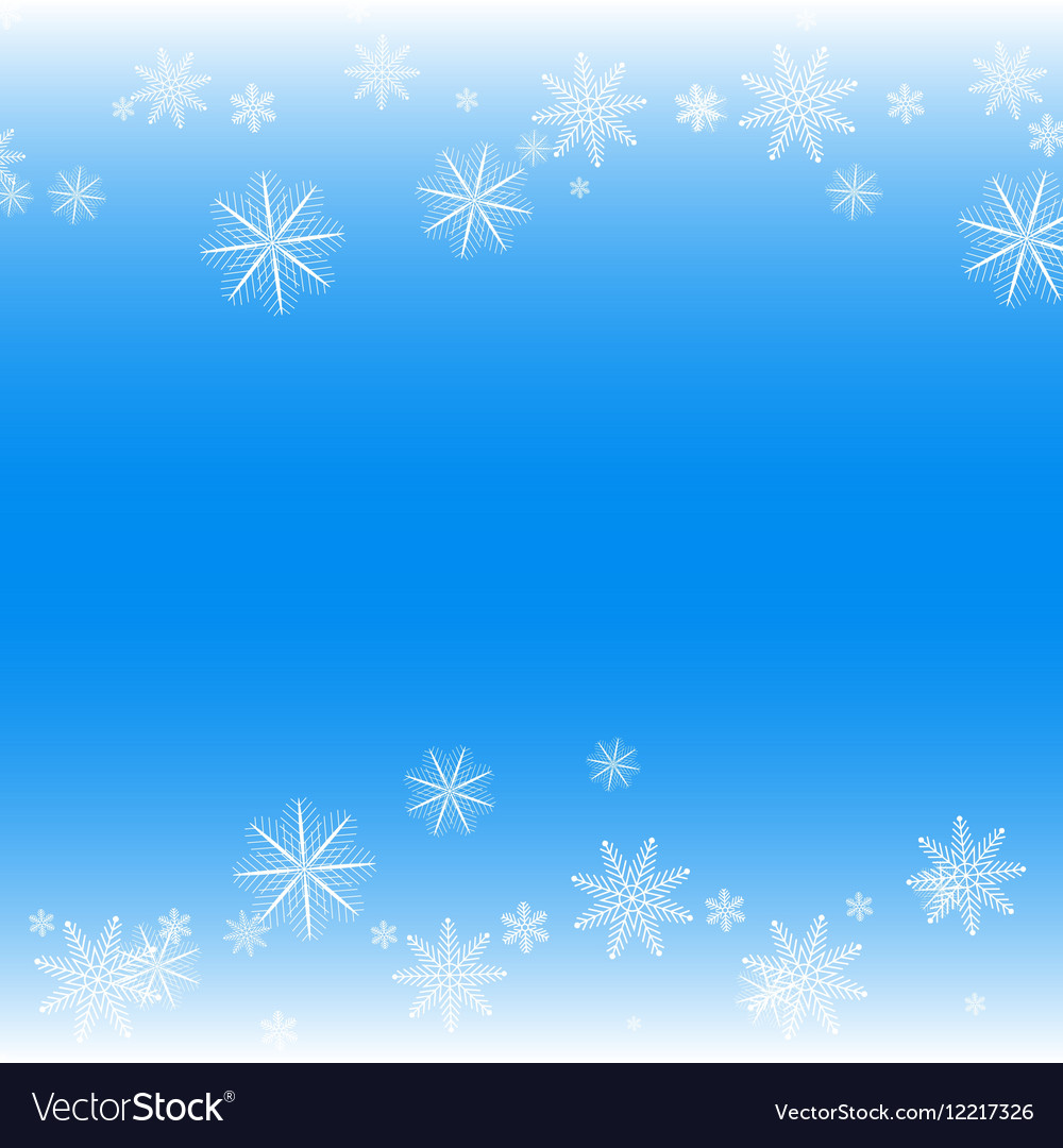 simple but cute winter background royalty free vector image