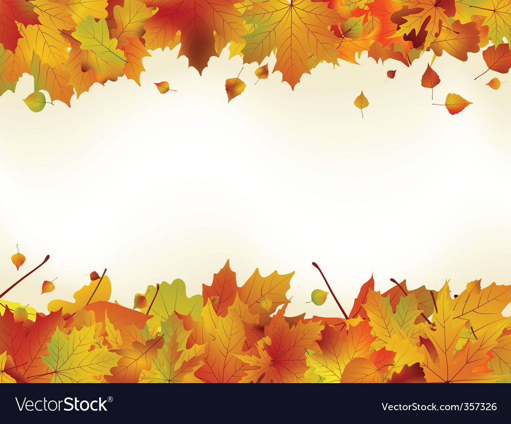 Thanksgiving day card template vector image