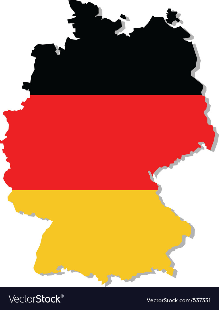 Map Of Germany Jpg.Germany Flag On Map