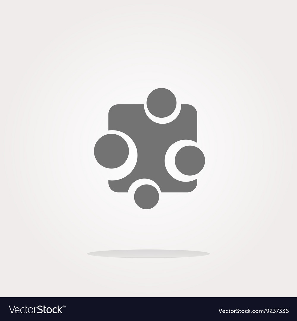 Abstract glossy web button icon isolated