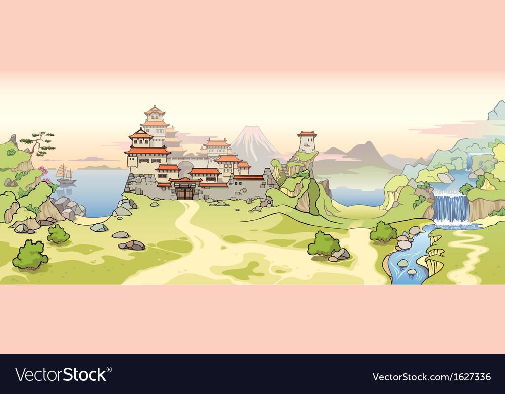 Old Japanese Castle