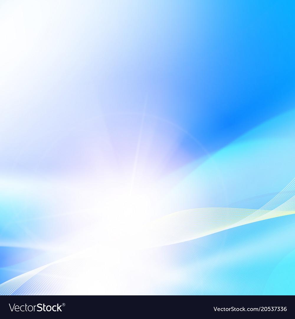 Shining blue background