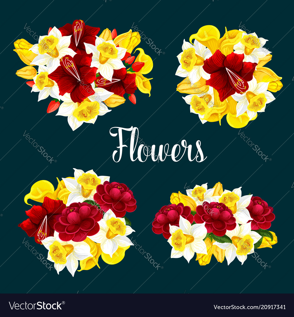 Flower pattern or poster