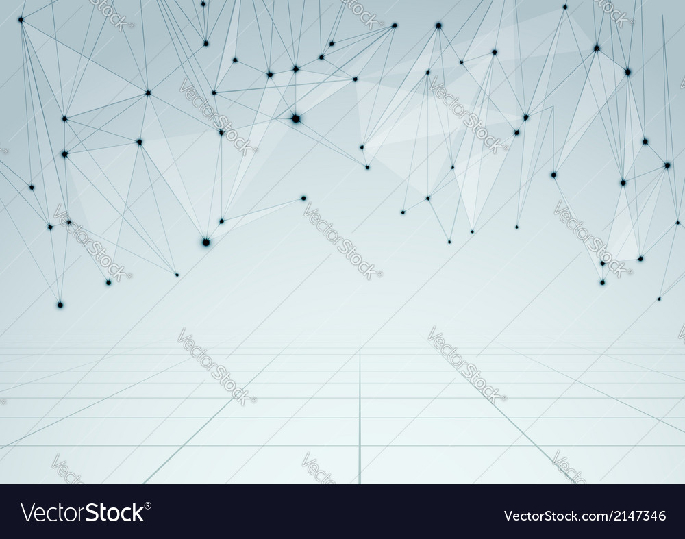 Abstract network connections perspective