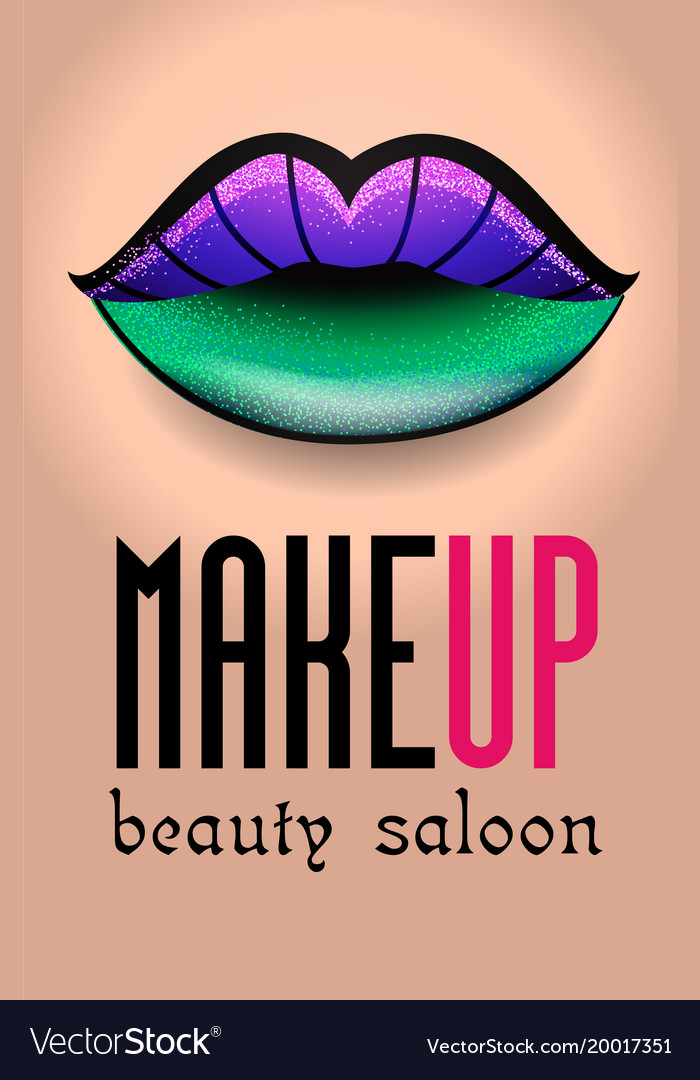 Banner For A Beauty Salon 3 Royalty Free Vector Image