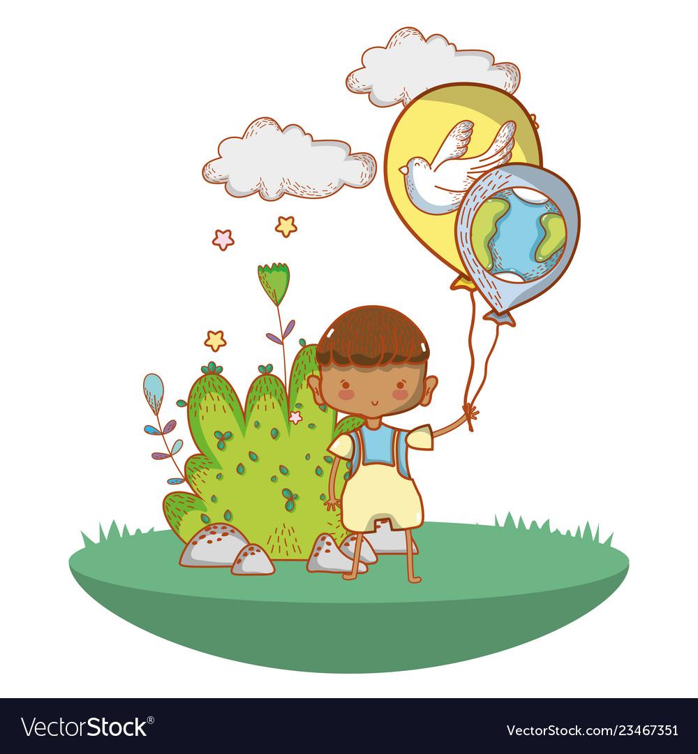 Cute child cartoon