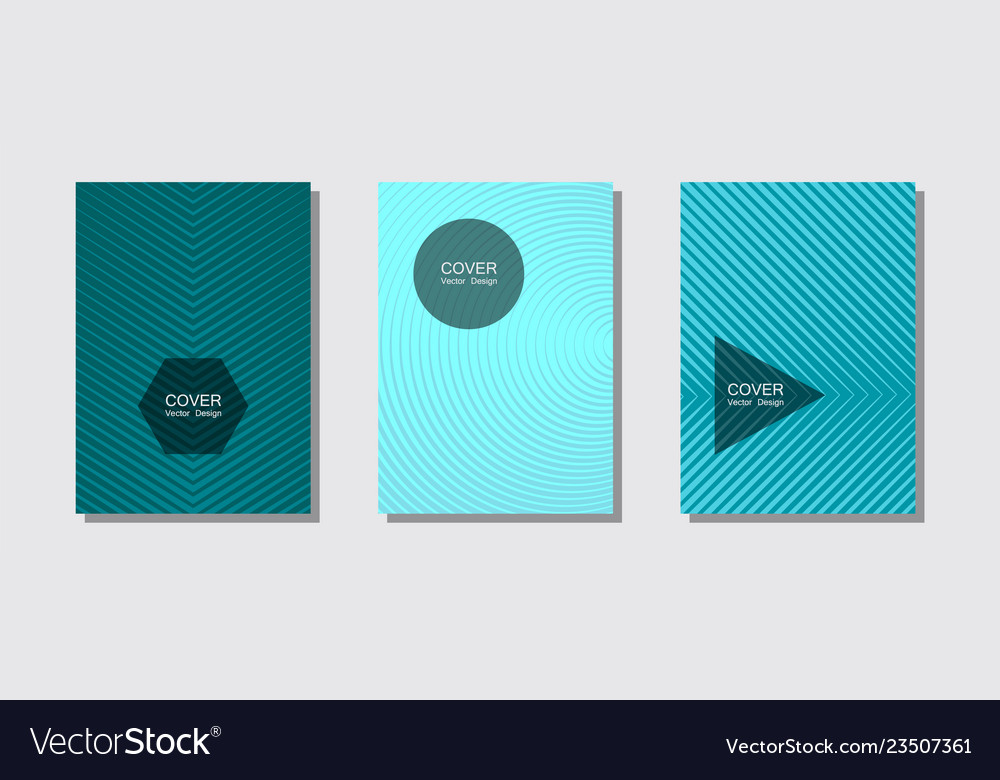Brochure covers posters banners templates
